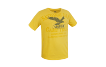Salewa SAMESA CO KID S/S TEE yellow sun
